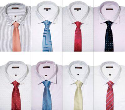 Hướng dẫ chọn cà vạt hợp áo sơ mi cho các chàng công sở